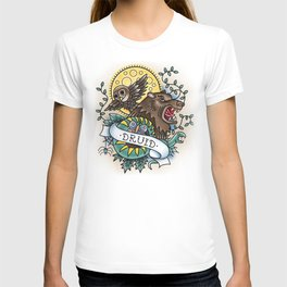 Druid - Vintage D&D Tattoo T-shirt