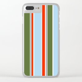 Simply stripes II Clear iPhone Case