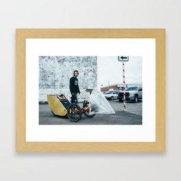 The Future: Transport Framed Art Print