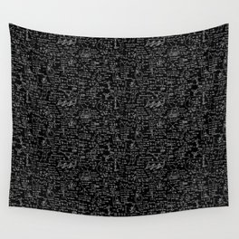 Physics Equations on Chalkboard Wall Tapestry