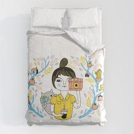 Summer Friends Comforters