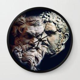 Cuttin ´ heads Wall Clock