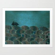 The Open Sea Art Print
