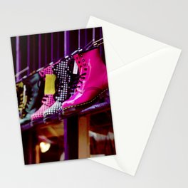 Doc Martins in Durham Stationery Cards