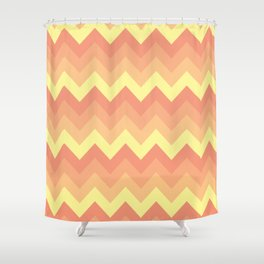 Heat Wave of the Summer Shower Curtain