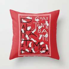 Chaz Tenenbaum's Dalmatian Mice Throw Pillow