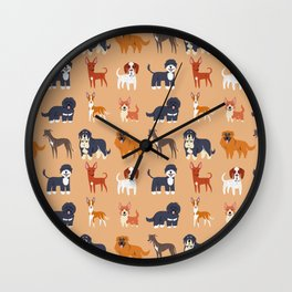 IBERIAN DOGS Wall Clock