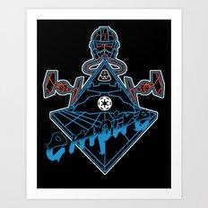 Imperial Punk Art Print