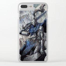 Artorias (Dark Souls) Clear iPhone Case