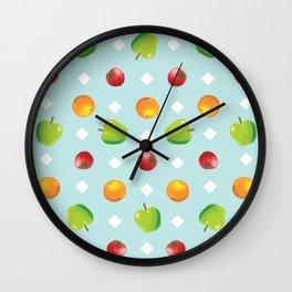 Fruit land Wall Clock