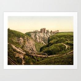 Dunnottar Castle, c. 1890–1900 Art Print