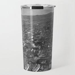 Vintage San Francisco Panoramic Photograph (1902) Travel Mug