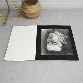 Dali - Portrait of the Genius Rug