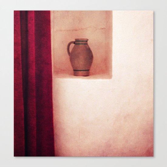 Grey jug Canvas Print