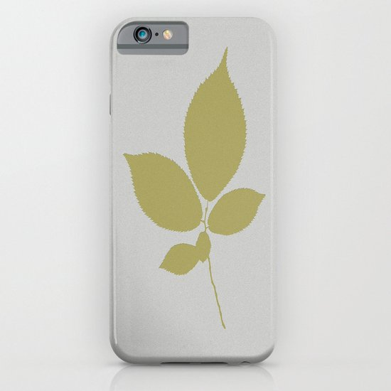 Vert et feuille d'or iPhone & iPod Case