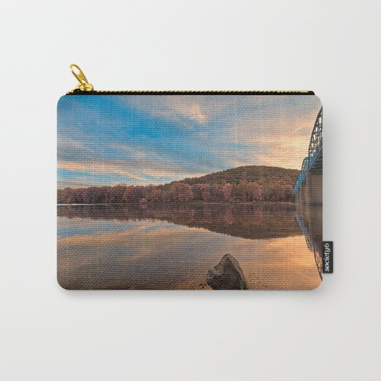 Point of Rocks Sunset - Pastel Fantasy Carry-All Pouch