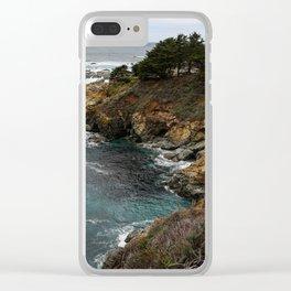 California Coastline Clear iPhone Case