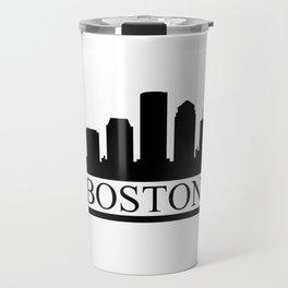 Boston skyline Travel Mug