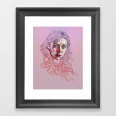 Giving Up My Echoes Framed Art Print
