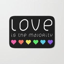 Love Is The Majority (Color) Bath Mat