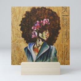 Her Lily- Purple Mini Art Print