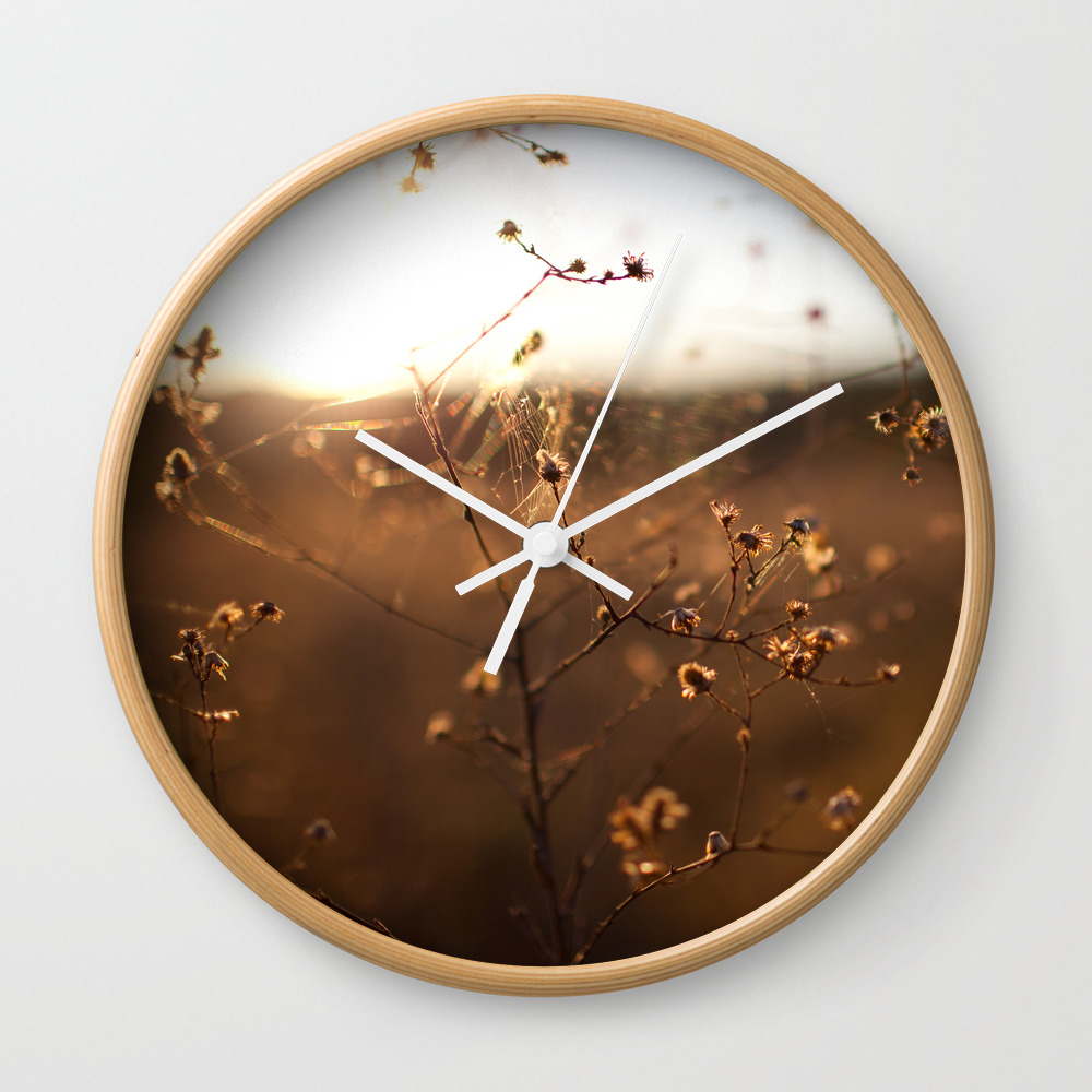 Don't Get Caught Wall Clock by Jordanhmay CLK916504