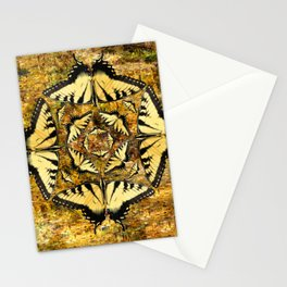 Butterfly Octagon 2 Stationery Cards