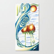 Poppie Flowers Canvas Print