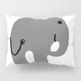 elephant. Pillow Sham