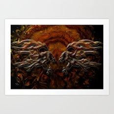 War Eagles Art Print