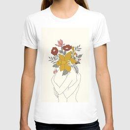 Colorful Blossom Hug T-shirt