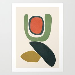 Abstract Shapes 32 Art Print