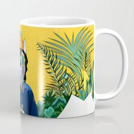 Wolf with the gift Coffee Mug