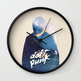 Daft Punk Summer Wall Clock