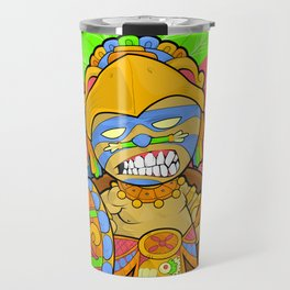 Azteca Moderno - Eagle Warrior Munny Travel Mug