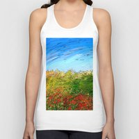 study Tank Tops featuring Horizon Study by Paul Kimble