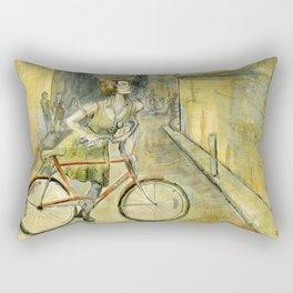 Alley Bike Rectangular Pillow
