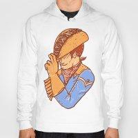 taco Hoodies featuring Taco Cowboy by Jonah Makes Artstuff
