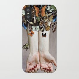 The Butterfly Project (2) iPhone Case
