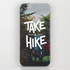 Take A Hike iPhone & iPod Skin