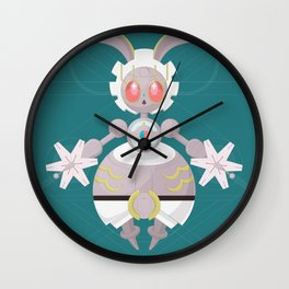 Megearna Bot Wall Clock