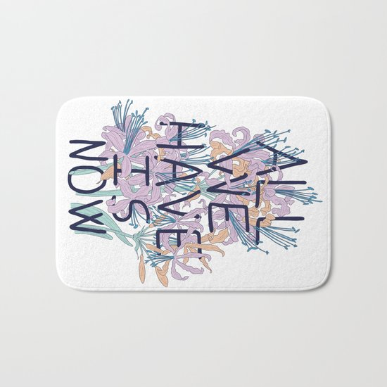 All We Have Is Now Version 2 Bath Mat
