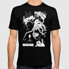 Octopus Mens Fitted Tee Black MEDIUM
