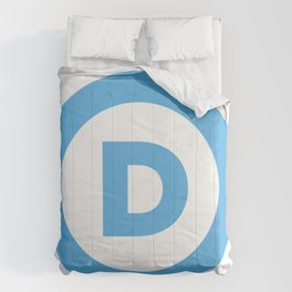 Democratic Party Logo Comforters