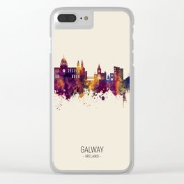 Galway Ireland Skyline Clear iPhone Case