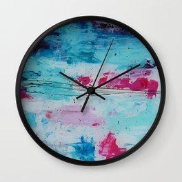 Softeness Pastel Wall Clock