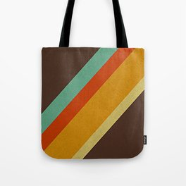 Retro 70s Color Palette Tote Bag