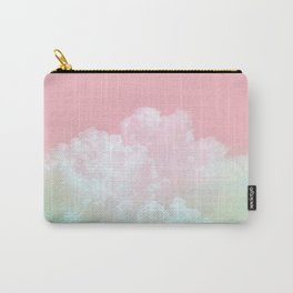 Magical sky in mint and pink Carry-All Pouch