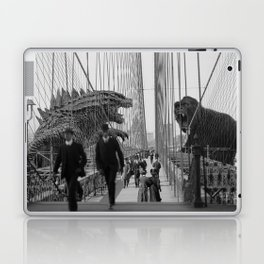 Old Time Godzilla vs. King Kong Laptop & iPad Skin