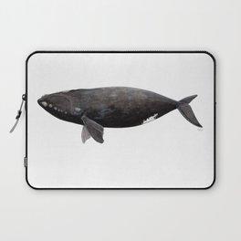 Northern right whale (Eubalaena glacialis) Laptop Sleeve